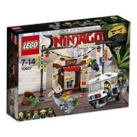 Lego Ninjago Persecución En Ciudad