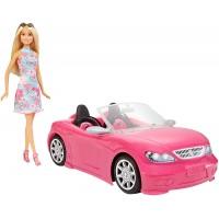Barbie + Descapotable Rosa