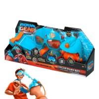 Aqua Gear Gafas y Lanzador de Agua Naranja