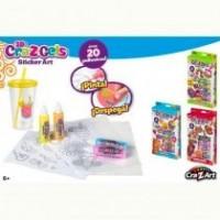 3D Cra-Z Gels Stickers Art