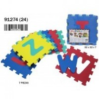 Puzzle Eva Letras 7 Piezas