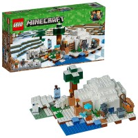 Lego Minecraft Iglú Polar