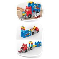 Camión Carreras y Construcción de Mega Blocks