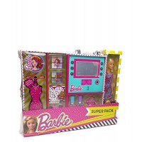 Barbie Super Pack Beauty C/muñeca