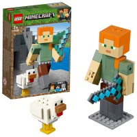 Lego Minecraft Bigfig Alex C/Gallina