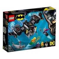 Lego Batman Batsubmarino y El Combate Bajo El Agua