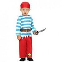 Disfra Pirata Bebé Chico T/0-6 Meses