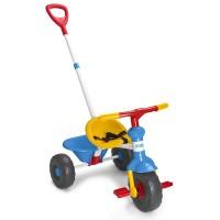 Triciclo Baby Trike Azul De Feber