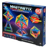 Juego Construcción Magtastix 60 Piezas