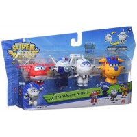 Pack 4 Superwings Transformables