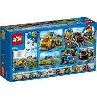 Camión de Transporte De Coches de Lego