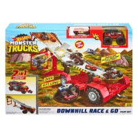 Hot Wheel Circuito Monster Trucks Downhill
