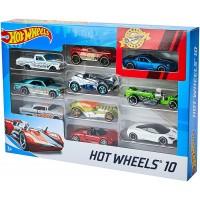 Hot Wheel Pack de 10 Coches Surtidos