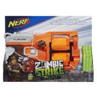 Pistola Nerf Flipfury Zombie Strike