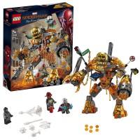 Lego Marvel Spiderman Batalla Contra Molten Man