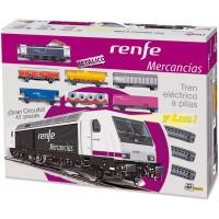 Tren Eléctrico Renfe De Mercancias