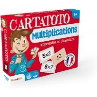 Baraja Cartatoto Multiplicaciones