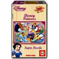 Princesas Puzzle Madera
