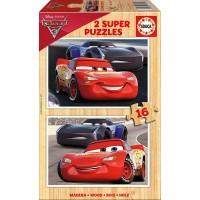 Cars Puzzles Madera