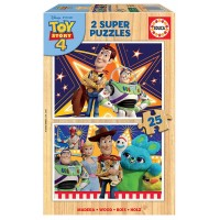 Toy Story 4 Puzzles Madera