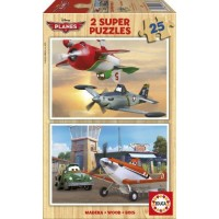 Planes Puzzles Madera