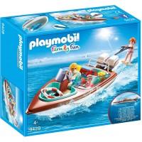 Lancha Motora De Playmobil