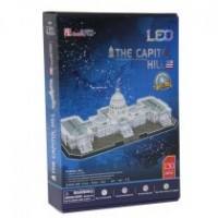 Puzzle 3D The Capitol Hill Con Led