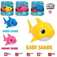 Baby Shark Canta Y Nada Robo Fish