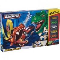 Pista Dino Clash 2 En 1