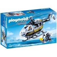 Playmobil Helicóptero Fuerzas Especiales