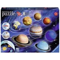 El Sistema Planetario Puzzle 3D