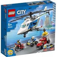 Lego City Persecucion en Helicoptero