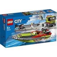 Lego City Transporte De Lancha De Carreras