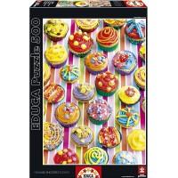 Cup Cakes De Colores Puzzle 500 Piezas
