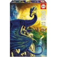 Puzzle Eragon y Saphira De 500 Piezas