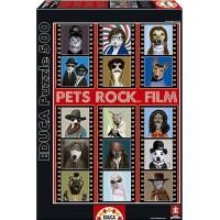 Puzzle Pets Rock Film De 500 Pzas