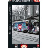 Puzzle Tranvía de Gante Bélgica 500 Pzas