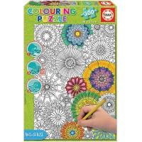 Puzzle Colouring 300 Piezas