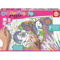 Puzzle Colouring Unicornio 150 Piezas