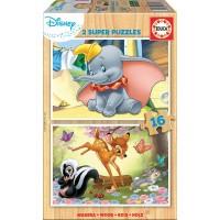 Puzzle Dumbo Madera