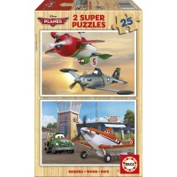Puzzle Planes Madera
