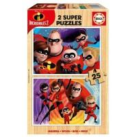Puzzle Incredibles 2 Madera