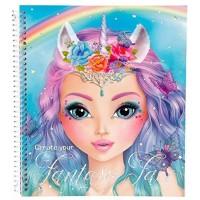 Top Model Cuaderno Crea Tu Fantasy Face