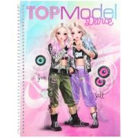Top Model Cuaderno de Colorear Dance