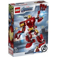 Lego Avengers Iron Man Armadura Robotica