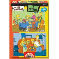 Puzzle The Simpsons En El Hogar