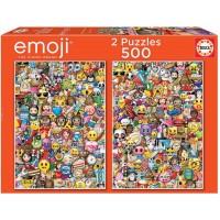 2 Puzzles Educa De 500 Piezas