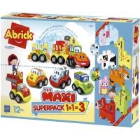 Super pack Vehiculos y Animales de Abrick