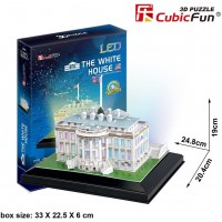 Puzzle 3D The White House Con Led