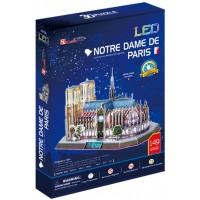 Puzzle 3D Notre Dame 149 Piezas C/Luz